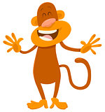 cartoon monkey animal character