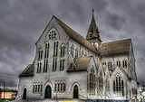 St. George cathedral in the center of Georgetown Guyana
