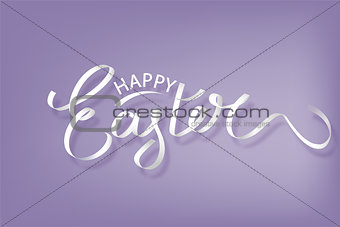 Background with paper egg