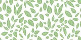 leaves seamless background