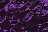 Abstract low poly triangles background