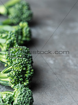 broccolini green vegetable