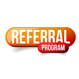 Referral Program orange button