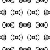 Bow tie little gentleman seamless pattern.