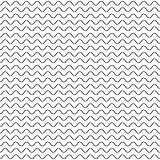 Black fine wavy line pattern black and white.