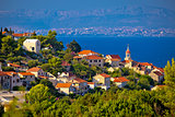 Town of Sutivan coast view, Island of Brac, Dalmatia, Croatia