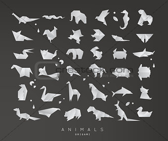 Animals origami set