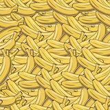 Vintage Banana Seamless Pattern