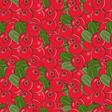 Vintage Cowberry Seamless Pattern