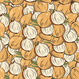 Vintage Onion Seamless Pattern