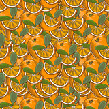 Vintage Orange Seamless Pattern