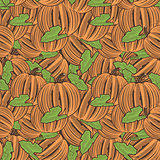 Vintage Pumpkin Seamless Pattern