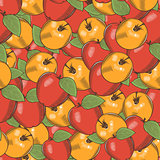 Vintage Apple Seamless Pattern