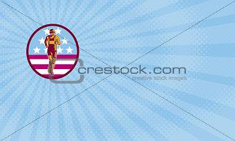 American Marathon Business card
