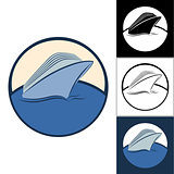 Logos of cruise ships