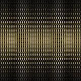 Geometric, stylish, technogenic, halftone gold background. illustration