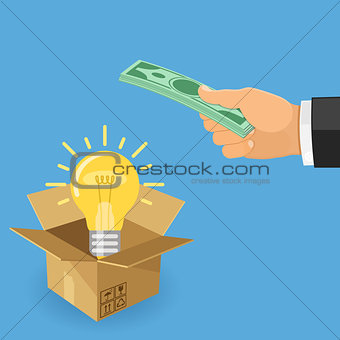 Money for idea