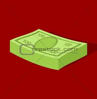 A bundle of money