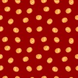 Gold coins. Seamless texture