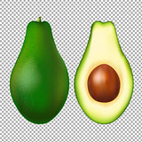 Avocado Transparent Background
