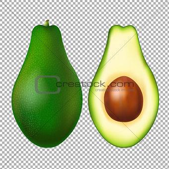 Avocado Transparent Background