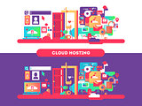 Cloud hosting design