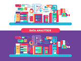 Data analytics design flat