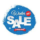 Winter Sale Banner
