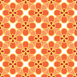 Art abstract flower seamless pattern