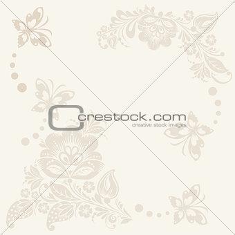floral rustic wedding cards, beautiful design.