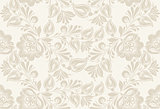 Vintage floral seamless pattern. .
