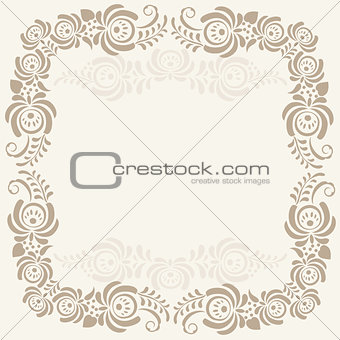 Abstract geometric lace pattern, background
