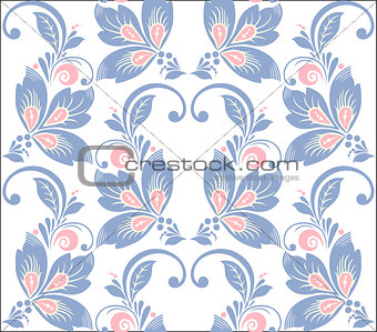Abstract elegance seamless pattern