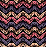 Vector chevron seamless pattern background