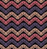 Vector chevron seamless pattern background