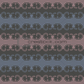 Abstract lace seamless pattern vector
