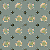 Seamless flower pattern.