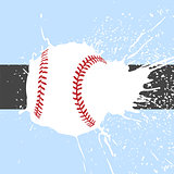 bright baseball background