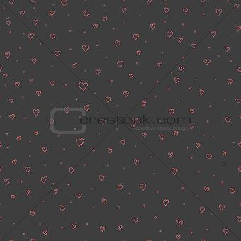 Valentine heart seamless