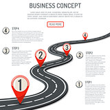 Business and Progress Concept