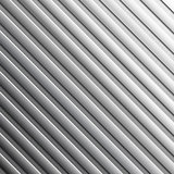 Striped metal background.