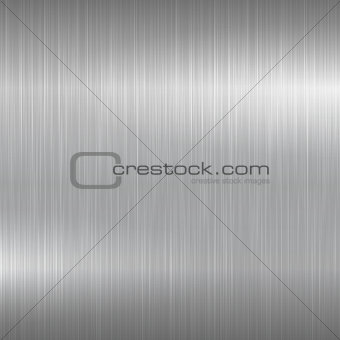 Bright metal background