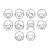 kids icon set