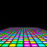 multi color lights floor