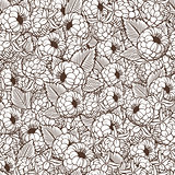 Vintage Raspberries Seamless Pattern