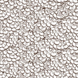Vintage Grapes Seamless Pattern