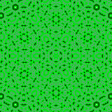 Creative Ornamental Green Pattern