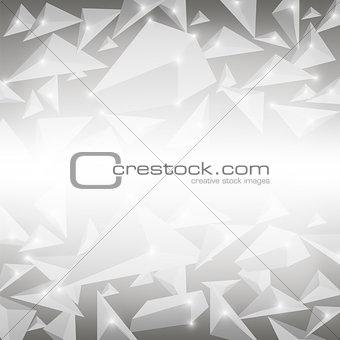 Grey Crystal Pattern.