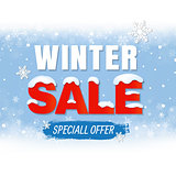 Sale Winter Poster