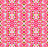 pink geometric striped design